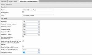 update browser Plugin für xt:Commerce