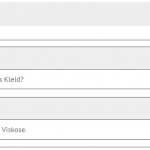 Produktseite - Fragenslider